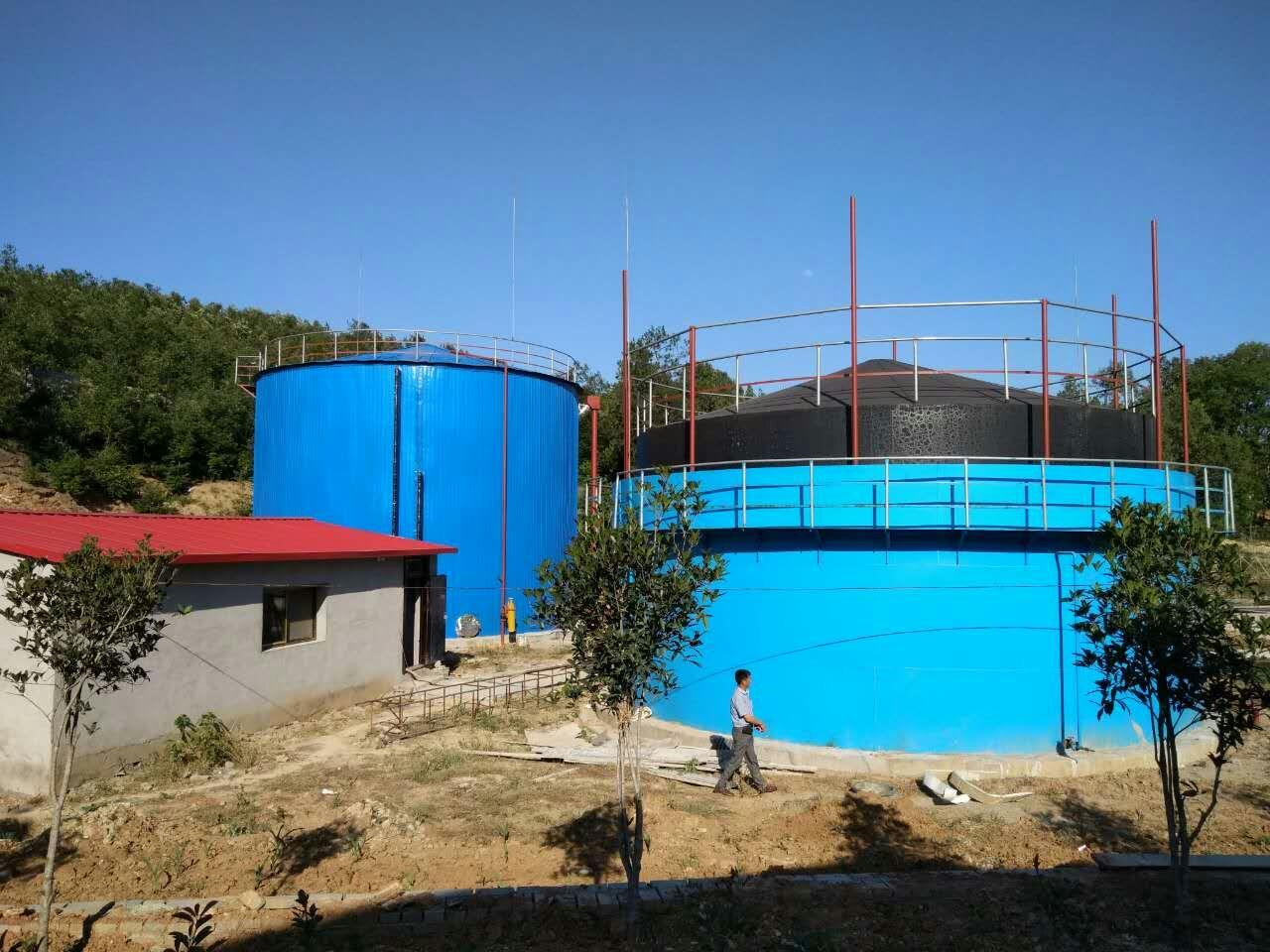 1000立方沼气工程